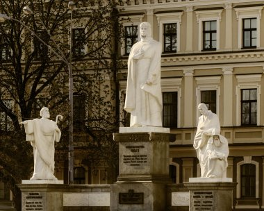 Monument to Queen Olga and the Saints