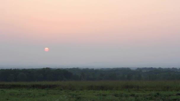 Beautiful timelapse sunset.