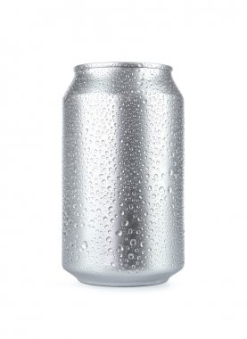 Blank Soda Can With Copy Space