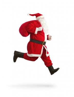 Santa Claus on the run