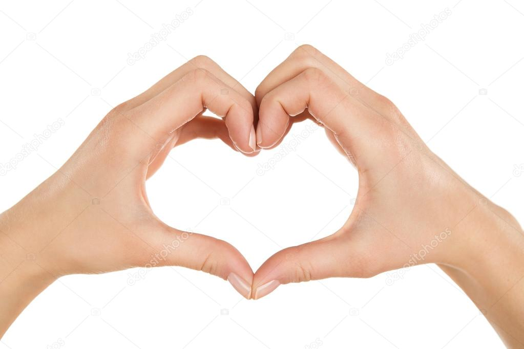 Image Of Heart Shaped Hands