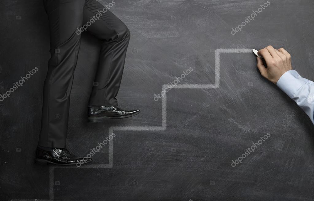 Climbing the career steps