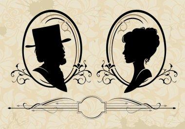 retro silhouettes