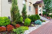 Fotografie natürliche Landschaftsgestaltung im Hause Garten