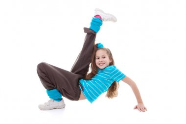 child dance exercising
