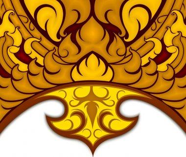 Art pattern Thai style