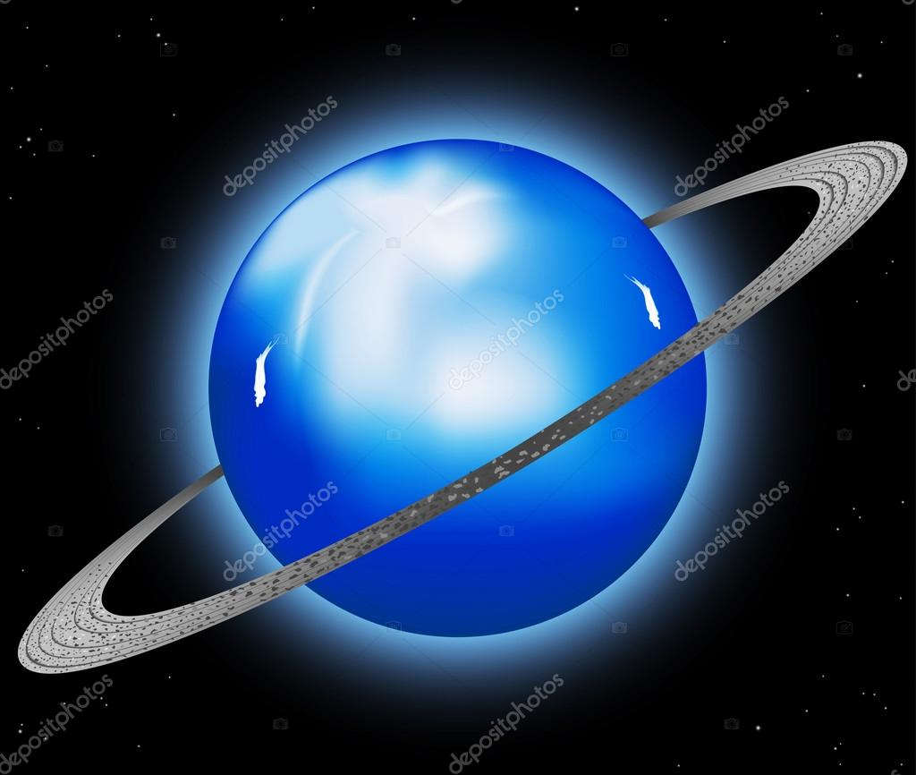 Uranus planet abstract background stock vector mapichai 15647741 beautiful uranus planet backgroundmesh tool eps10 vector by mapichai biocorpaavc Images