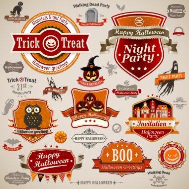 Halloween vintage se