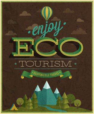 Eco Travel poster.