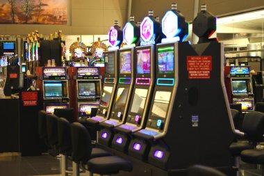 Slots in the airport McCarran in Las Vegas, Nevada