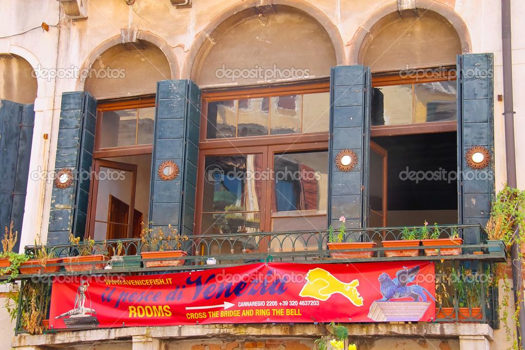 A Venice Fish Hostelt In Italy Stock Photo
