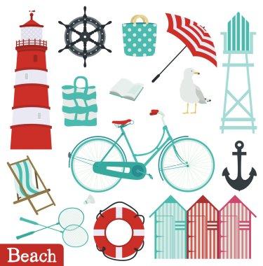Beach holiday set