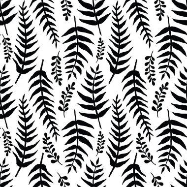 Fern seamless background