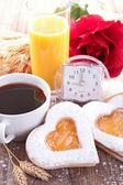 Fotografie Valentýna snídaně