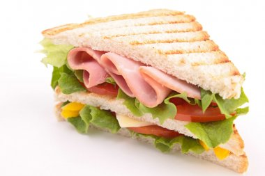 Toast sandwich stock vector