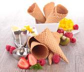 kužel zmrzliny
