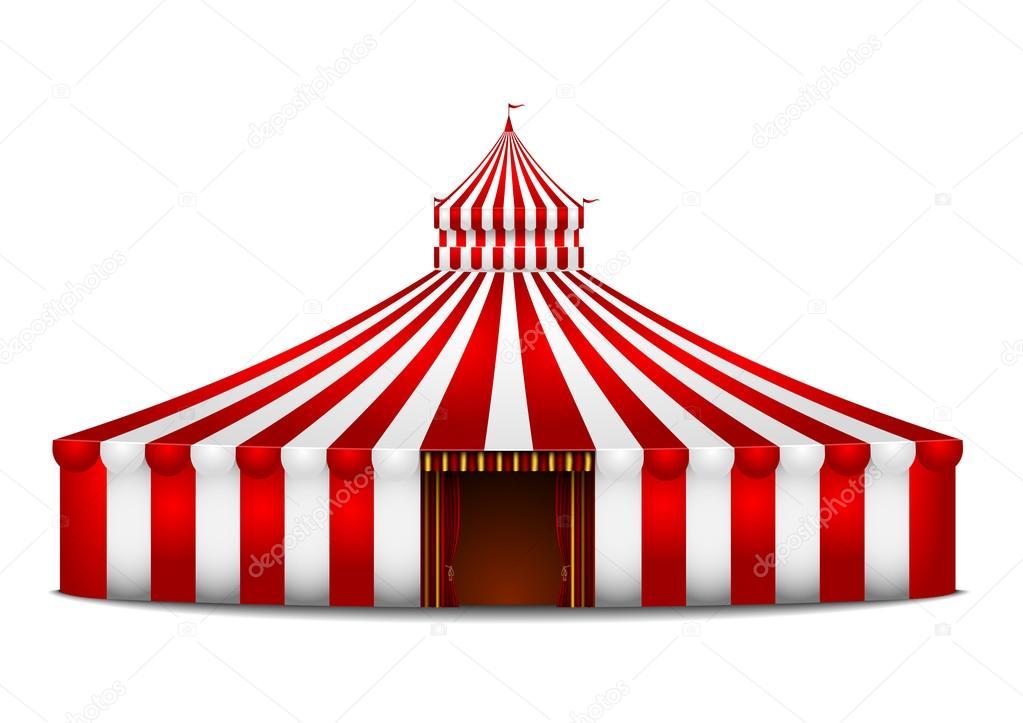 Chapiteau de cirque image vectorielle unkreatives 33646419 - Dessin d un chapiteau de cirque ...