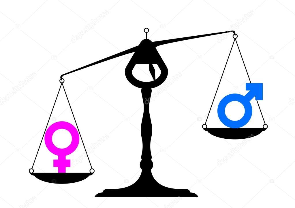 Gender Equality Symbols Stock Vector Unkreatives 38758321