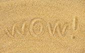 Wow na písku