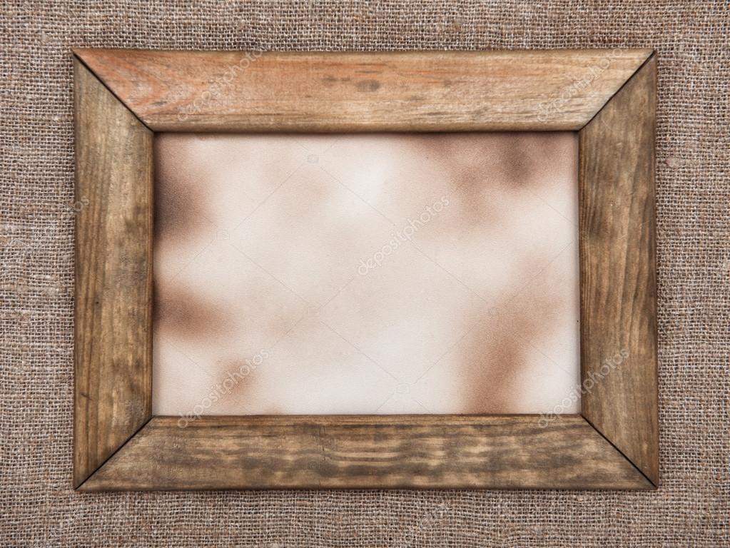 Alter Holzrahmen auf Hessisch — Stockfoto © DarkBird #37340297