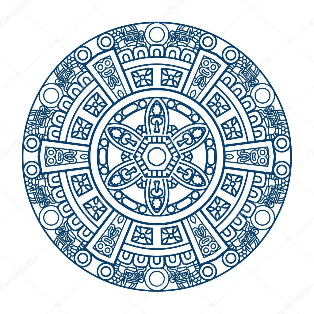 patrón de etnia ornamental — Archivo Imágenes Vectoriales © epic22 ...
