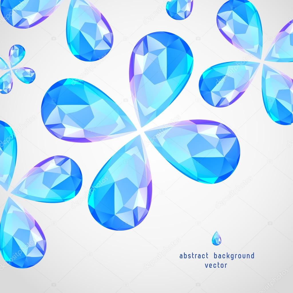 Vector Blue Sapphire the Drop