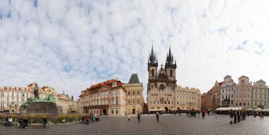 Old Town Square, Prague panorama