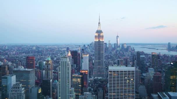 panoráma města New york