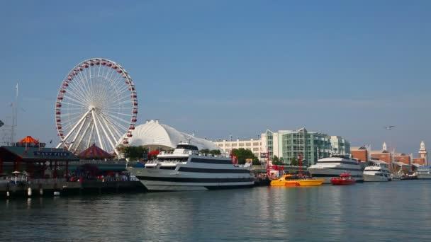 Námořní molo v Chicagu