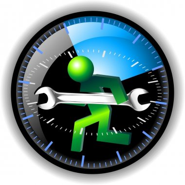 24 hour maintenance button