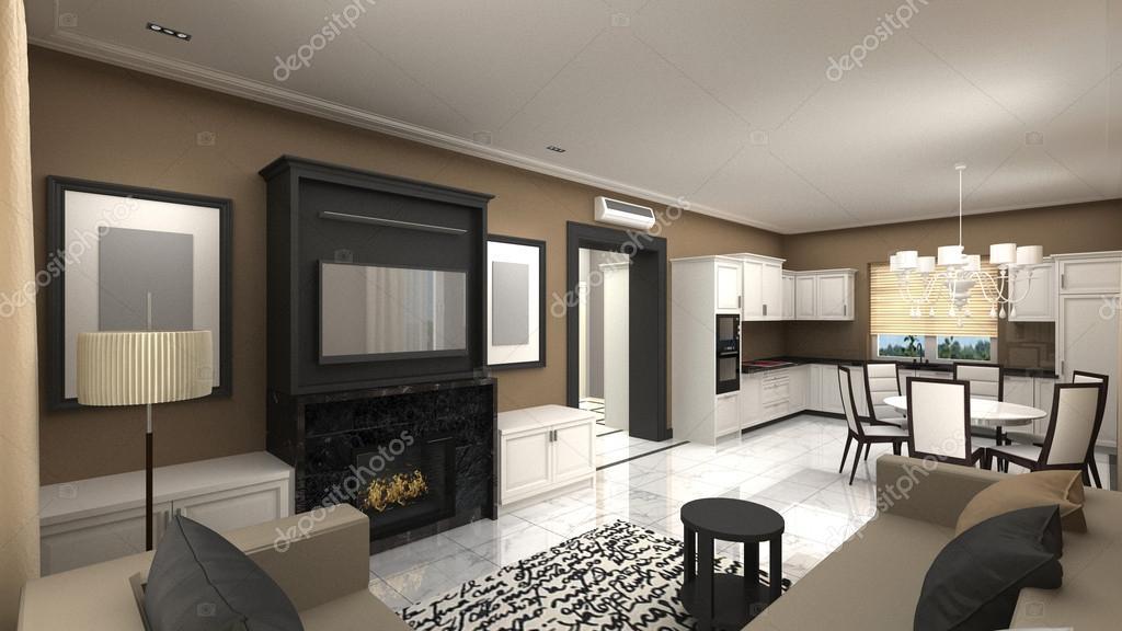 Interiores de estilo art deco foto de stock art1art for Deco interiores
