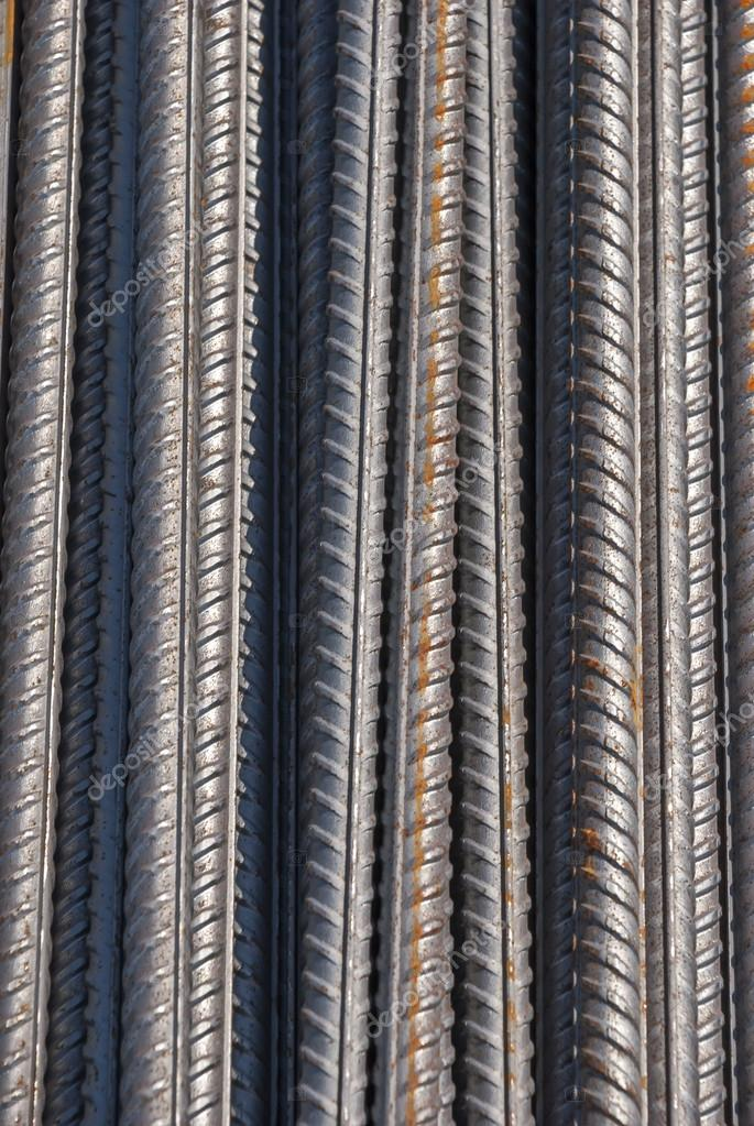 Stock Photo of Reinforcing steel armature construction