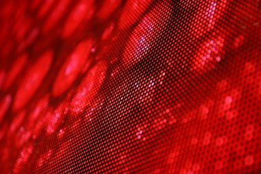 LED screen abstraction