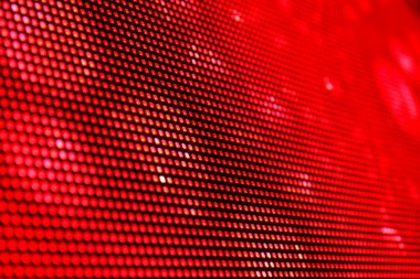 Red LED background