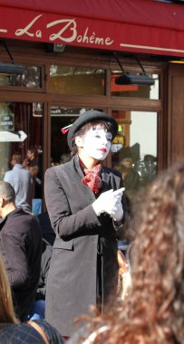 Pantomime on Montmartre, Paris