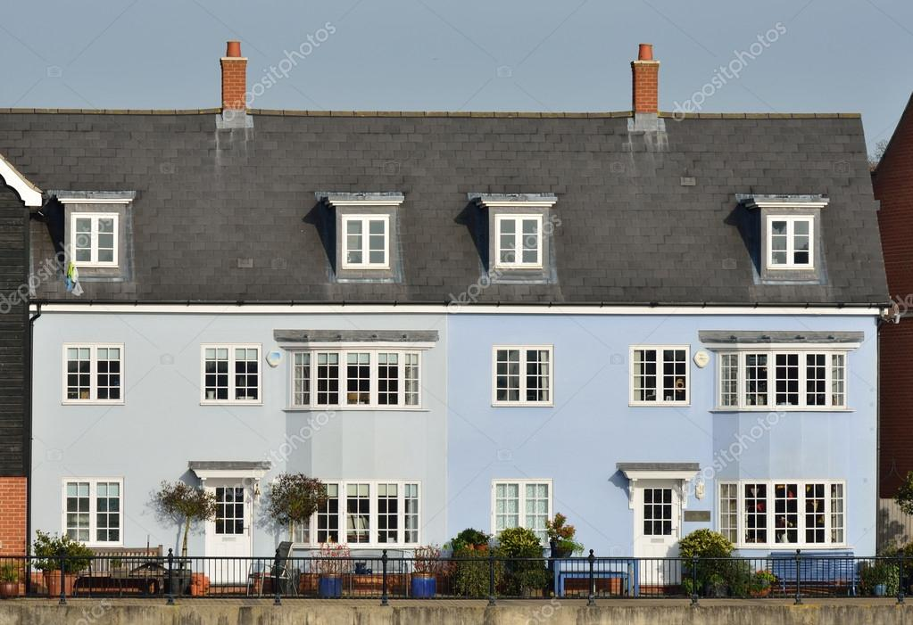 Blaue Häuser blaue häuser stockfoto pauws99 36430163