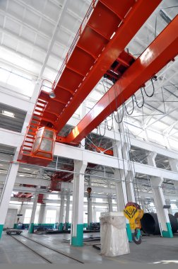 The factory crane