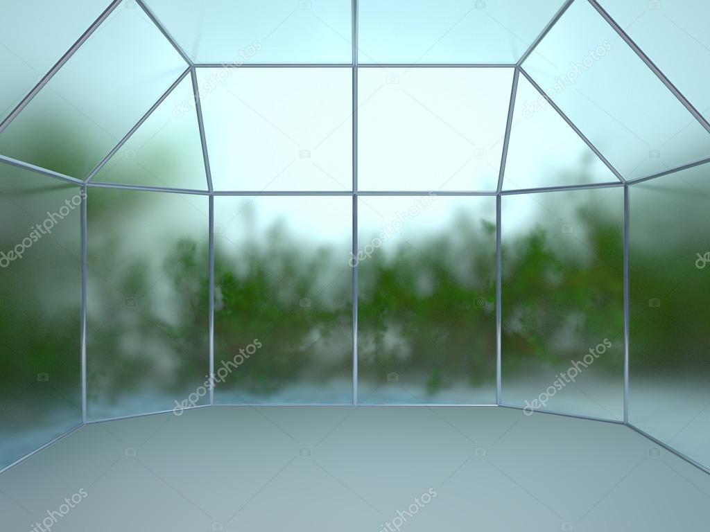 Greenhouse backdrop