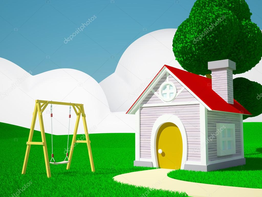 Home with swing