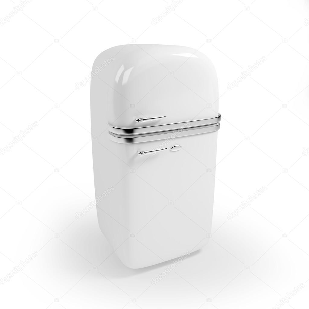 Vintage Kühlschrank — Stockfoto © ilterriorm #49014695