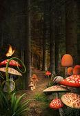 Verzauberte Natur Serie - Pilze-Pfad
