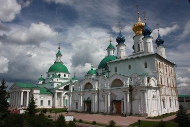 Russia, Rostov. Monastery of Saviour Yakovlevsky Dimitriev. Panorama.