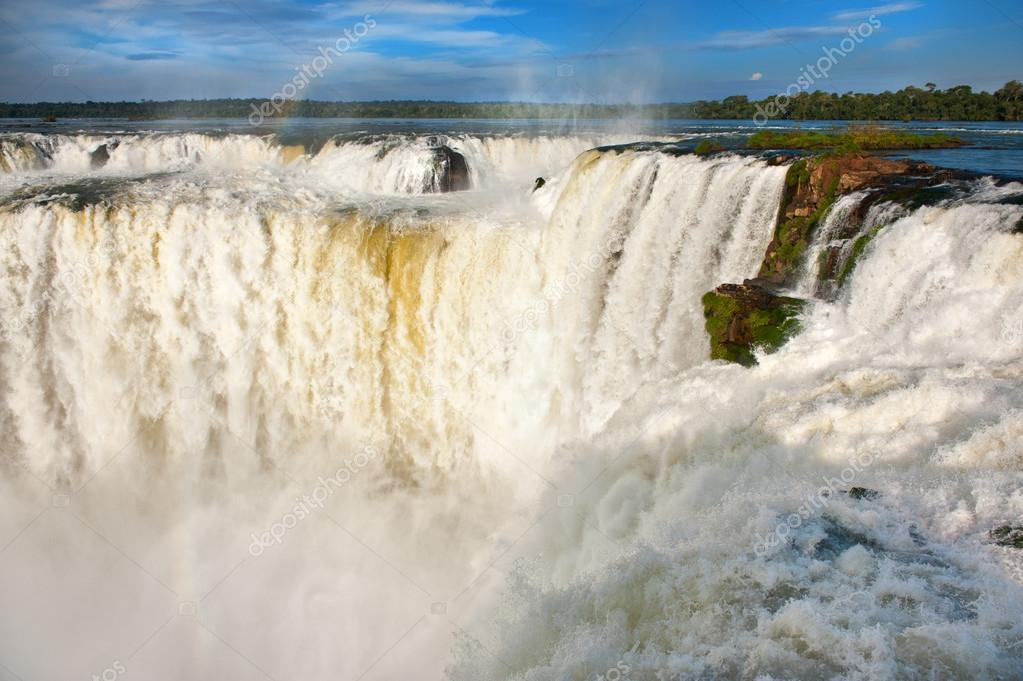 Iguazu falls.View from the argentinian side.