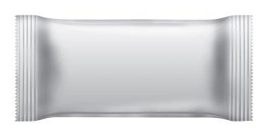 Blank chocolate bar package