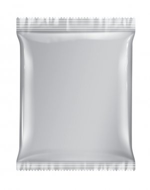 Sachet bag package white package