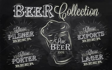 Names of different types of beer