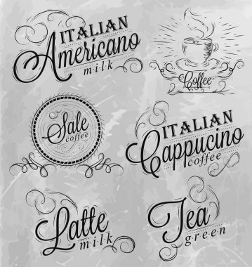 Names of coffee drinks