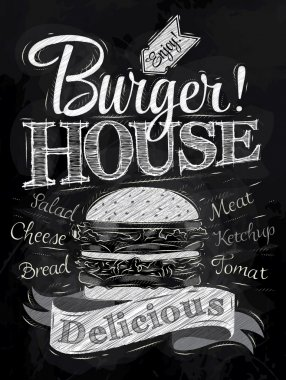 Burger House sign