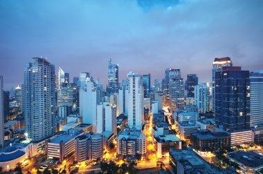 Makati skyline, (Metro Manila - Philippines)