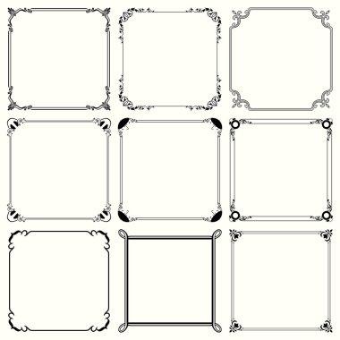 Decorative frames